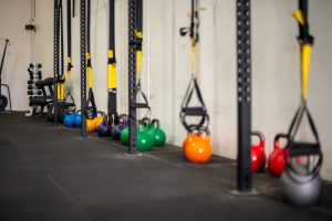 kettle bells and bands for sports therapy, rehab, strength and conditioning