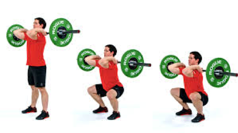 many doing split squat